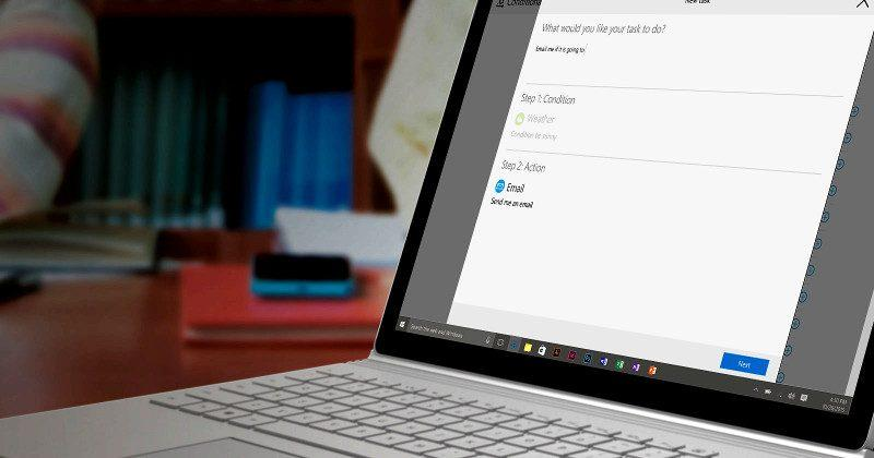 Microsoft's CAP takes on IFTTT with more natural language