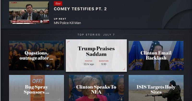 CBS News app arrives on Apple TV with live streaming, Siri search