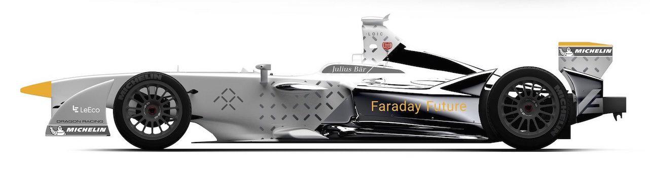 Faraday Future joins Formula E with Dragon Racing partnership