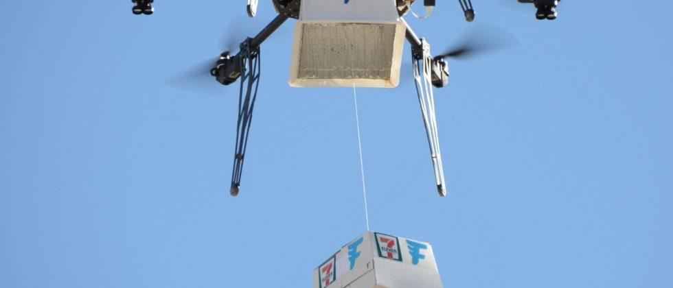 7-Eleven makes first Slurpee delivery by drone