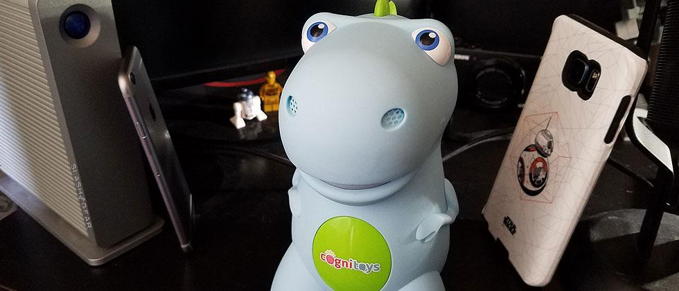 CogniToys Dino Review : 1-week with a talking dinosaur