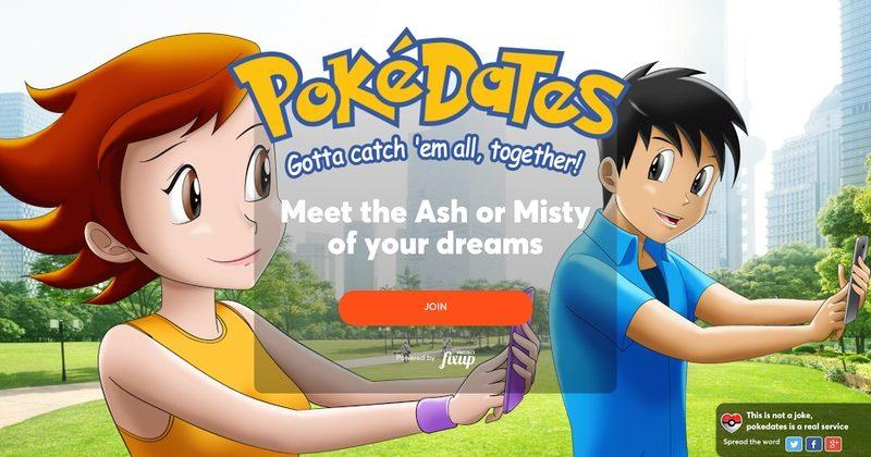 Find your Pokemon Go partner with PokeDates dating service