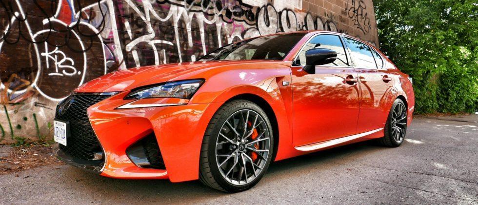 2016 Lexus GS F in Super-Sedan Showdown with BMW, Audi, and Cadillac
