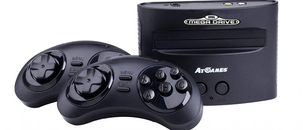 Sega Mega Drive console with 80 built-in games goes up for preorder