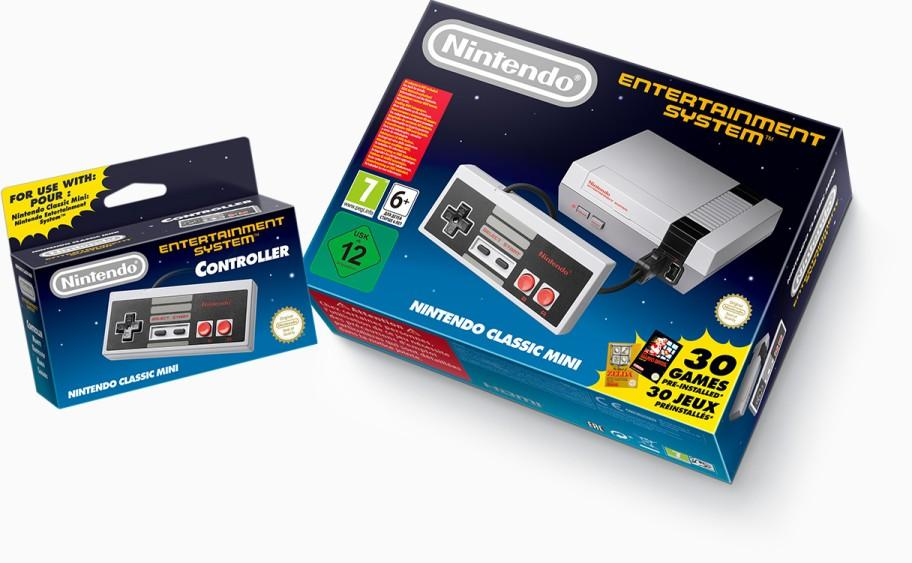 NES mini packaging