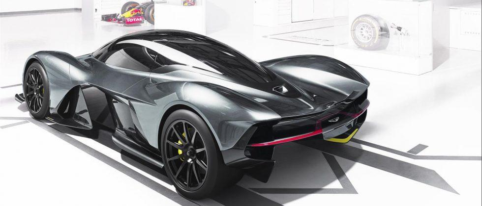 AM-RB 001 revealed: The street-legal hypercar Aston Martin and Red Bull built