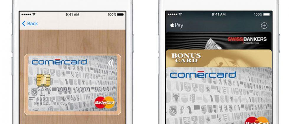 Apple Pay now available in Switzerland