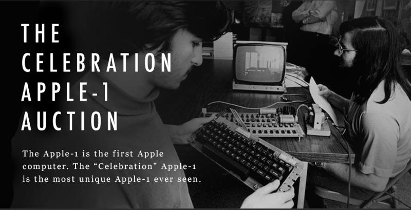 Apple 1 'Celebration' model heads to charity auction, expected to reach $1M