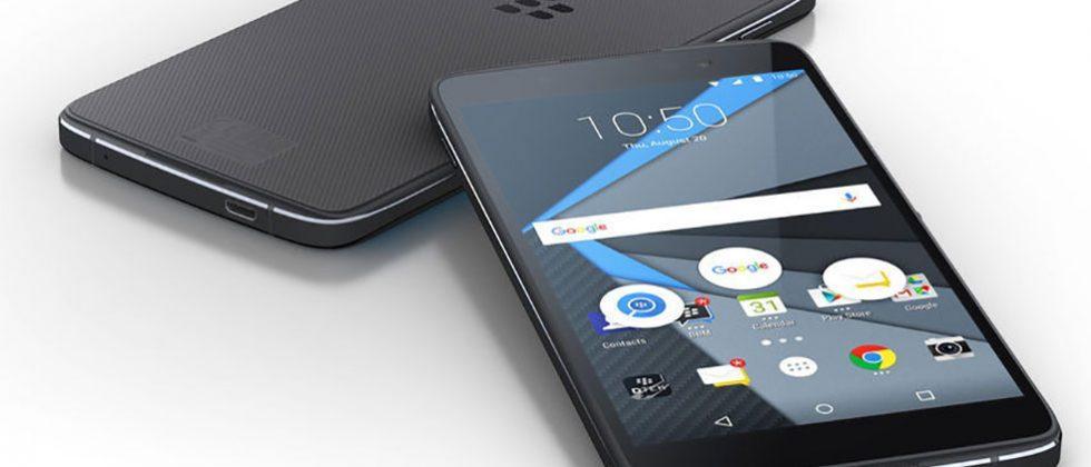 BlackBerry Neon Android smartphone leaks with mid-range specs