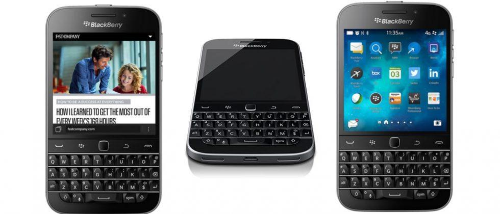 BlackBerry Classic has been officially discontinued