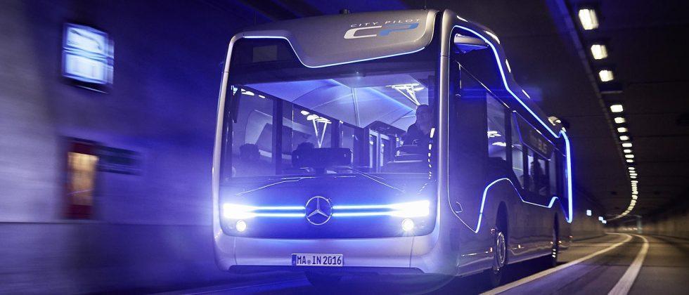 Mercedes-Benz Future Bus makes semi-automated trip on public roads