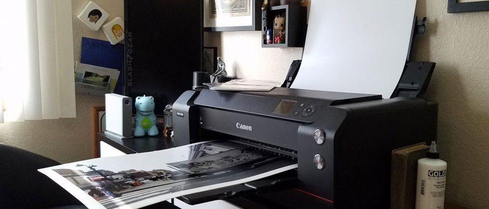 canon imageprograf pro 1000 printer review slashgear