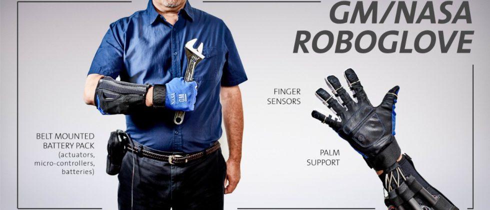 RoboGlove, a GM and NASA product, helps wearers get a better grip
