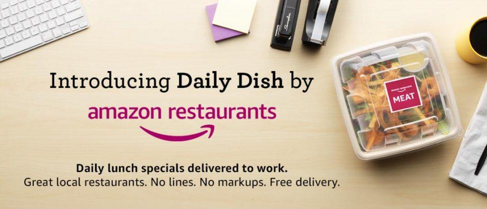 Amazon Daily Dish delivers lunch to Prime members in Seattle