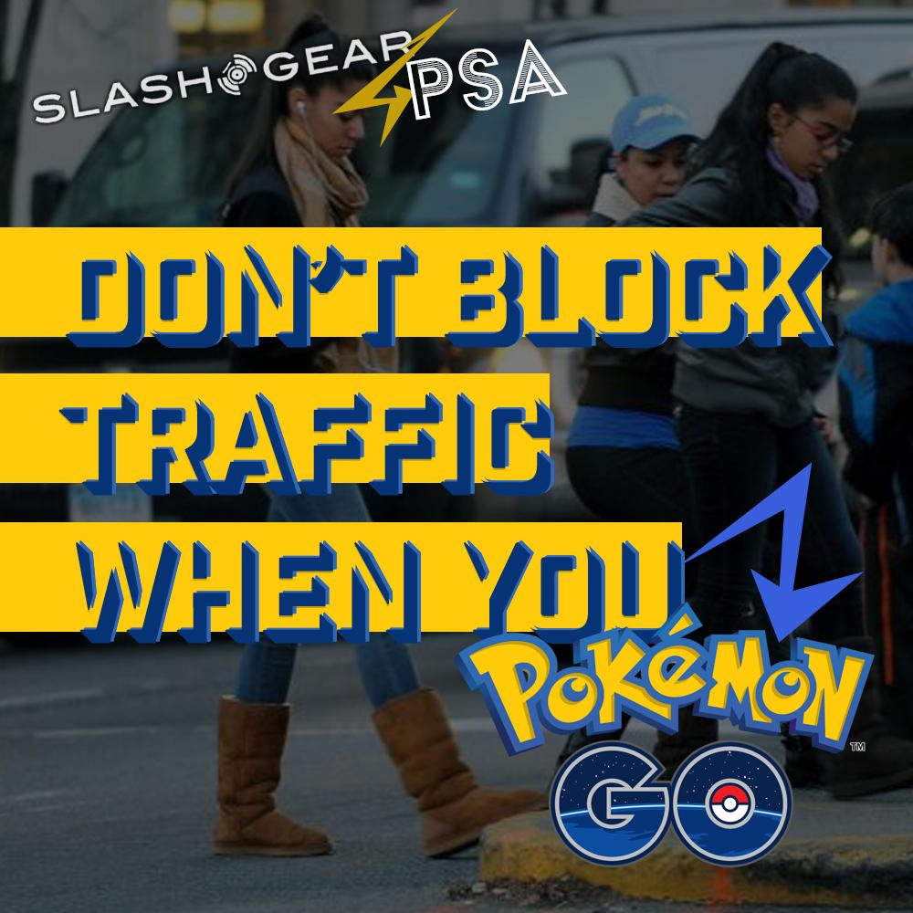 don't block traffic pokemon