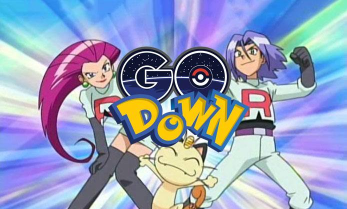 Pokemon GO server status is down, but also up