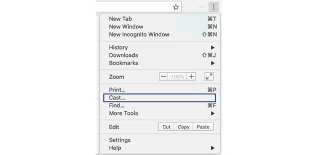 Google Chrome gets built-in Cast integration