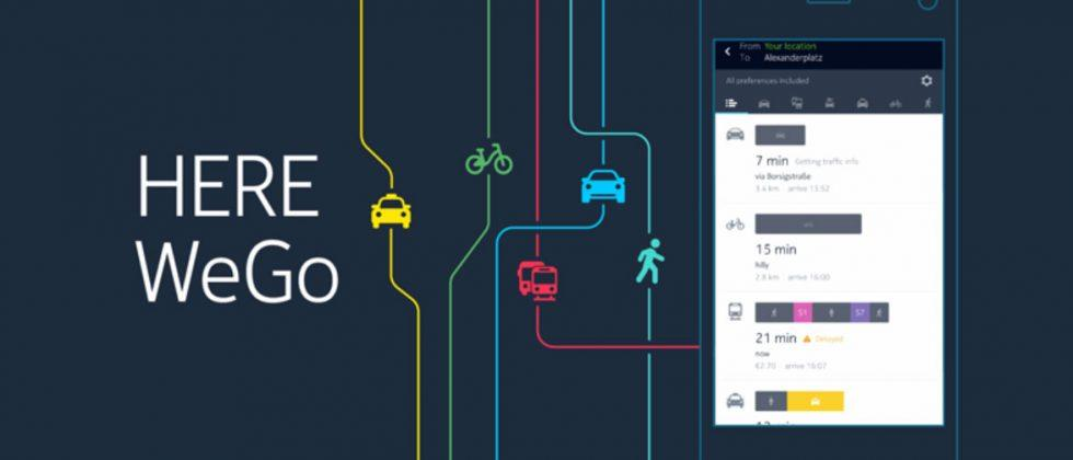 "HERE WeGo maps app aims for ""effortless city navigation"""