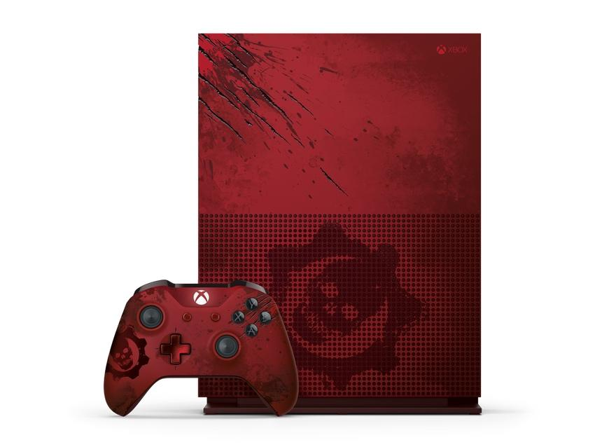 Gears of War 4 adorns first special edition Xbox One S