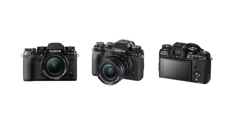 Fujifilm X-T2 mirrorless camera totes 4K 30fps recording
