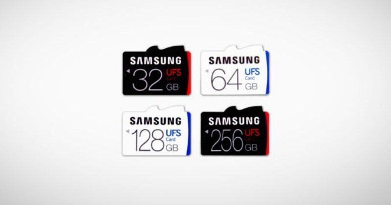 Samsung outs world's first UFS 256GB memory card