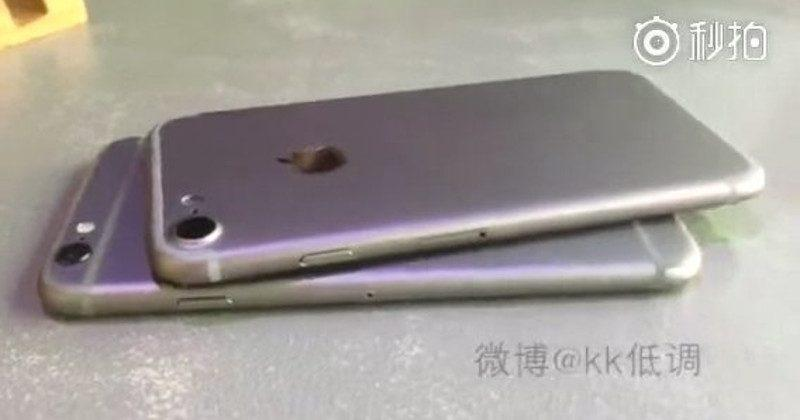 iPhone 7 vs iPhone 6s video gets leaked