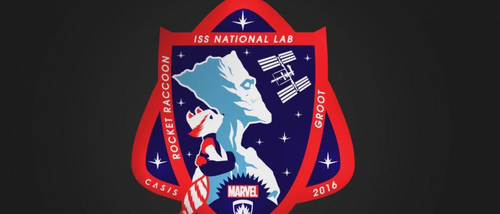 NASA puts Groot and Rocket Raccoon on official space station patch