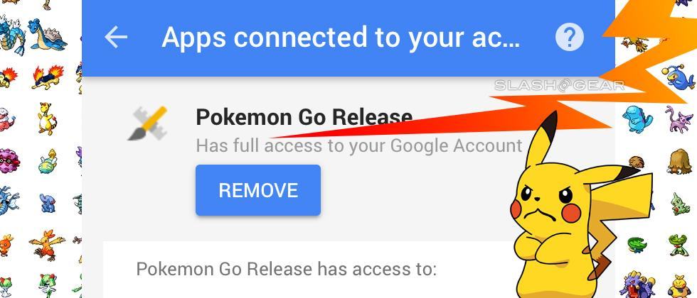 Stop playing Pokemon GO now and fix this privacy hole [UPDATE]