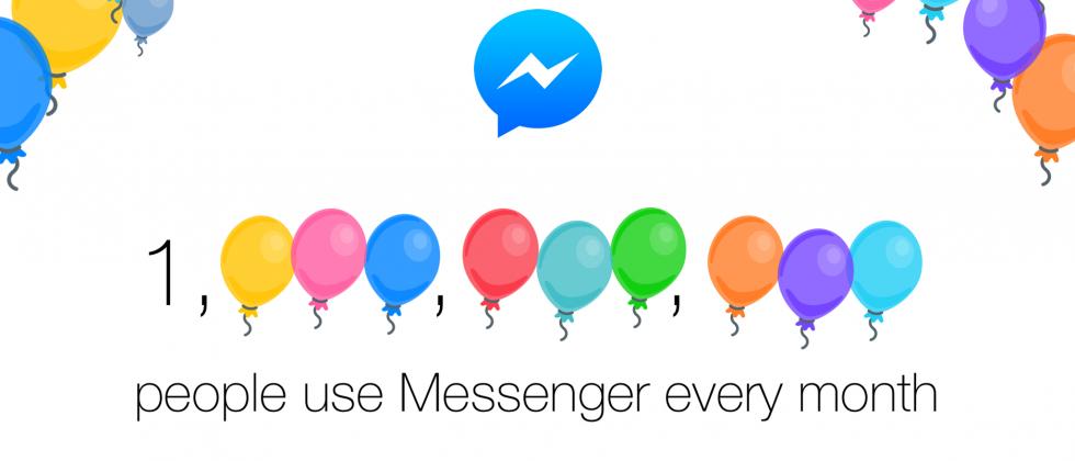 Facebook Messenger hits 1 billion user milestone