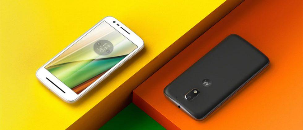 Moto E third gen smartphone hits the low-end range