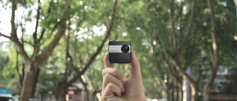 Nico360 360-degree camera can live stream