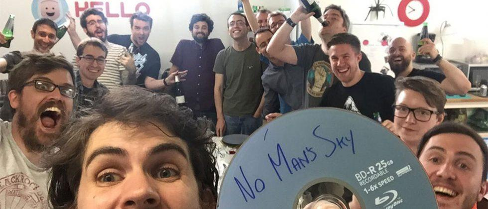 No Man's Sky is finally finished, goes gold