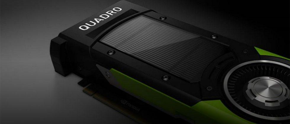 NVIDIA Quadro P6000 packs 3840 cores