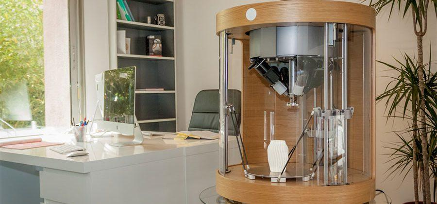 Pollen Pam 3D printer can use four materials in a single print