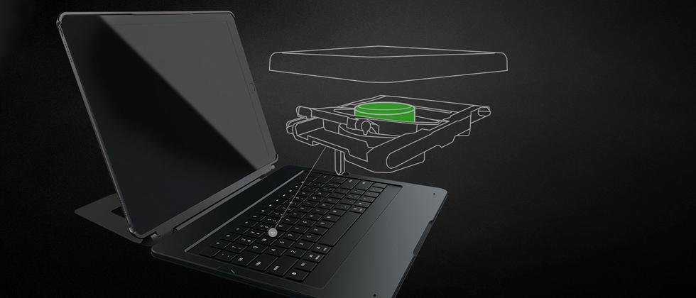 Razer iPad Pro keyboard makes world's first ultra-low-profile mechanical switch