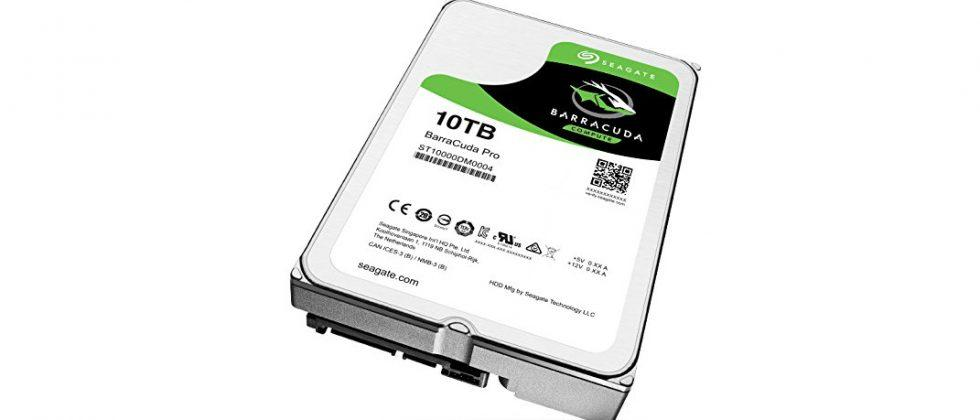 Seagate's new 10TB hard drives target the speed-hungry