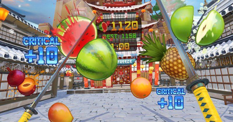 Fruit Ninja for HTC Vive turns you into a virtual slasher
