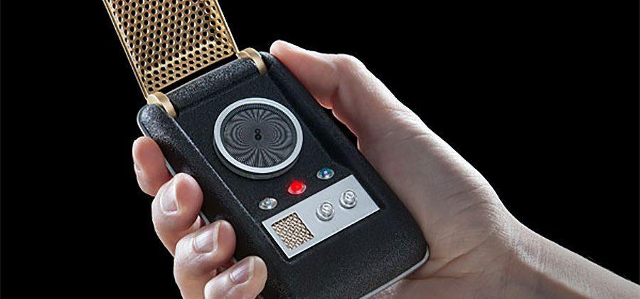 Star Trek Bluetooth Communicator works with your smartphone
