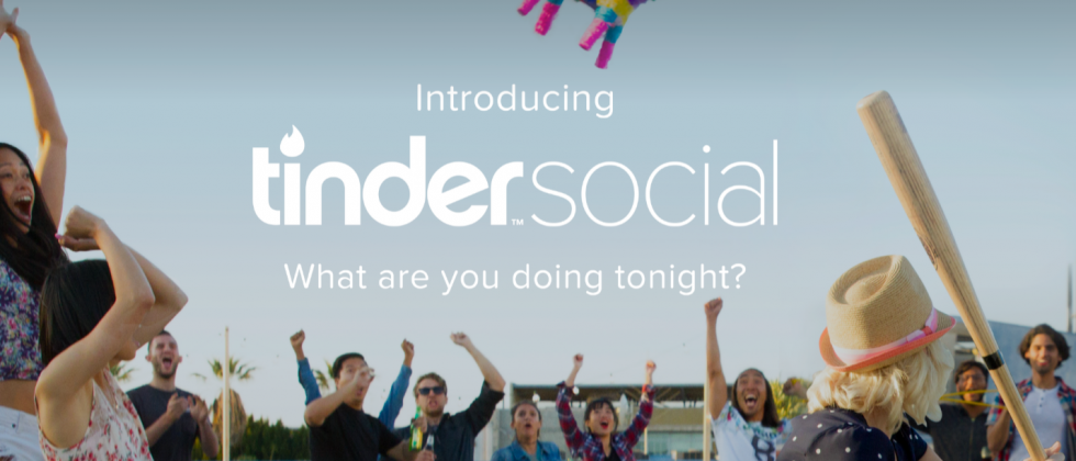 Tinder Social launches to bring groups together for a night out