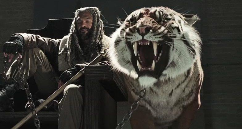 The Walking Dead season 7 trailer: zombies and tigers, oh my