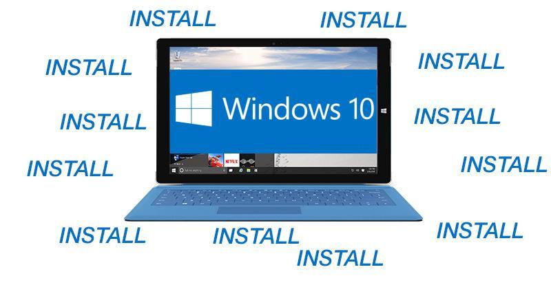 Windows 10's (hopefully) last nag goes full screen