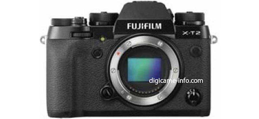 Fujifilm X-T2 leak details full roster of specs
