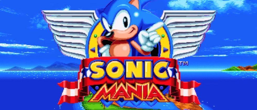 Sonic Mania is a new game straight from the Sega Genesis era
