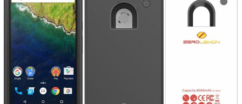 Huawei Nexus 6P ZeroLemon 8500mAh battery case debuts