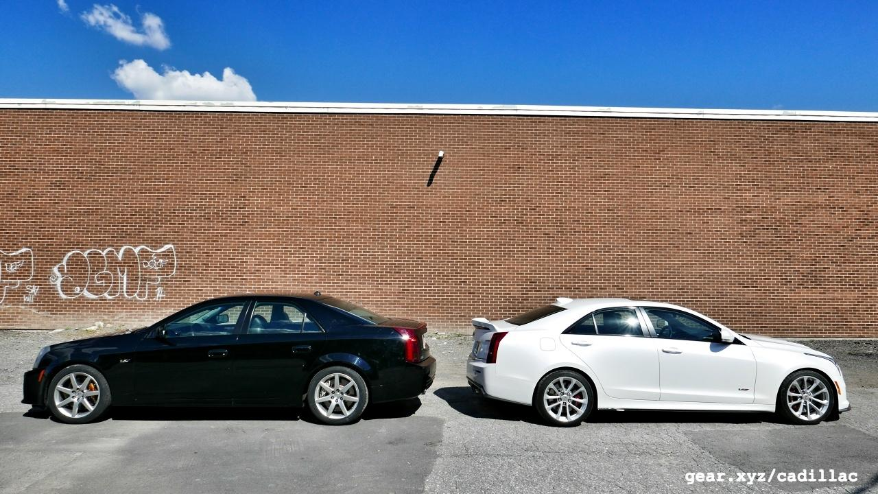 At First Glance Both Of These Cars Are In The Same Dimensional Ballpark Original Cts V Adds Four Inches Wheelbase Over Ats As Part Its