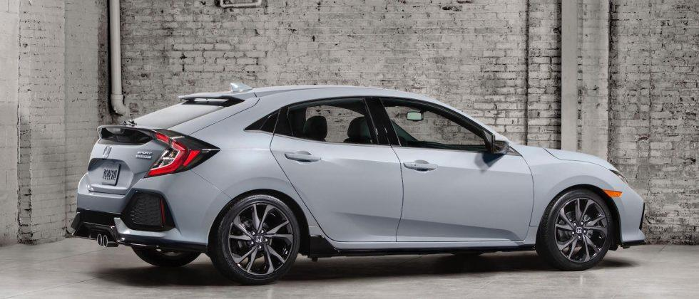 2017 Honda Civic Hatchback Revealed Ahead Of Type R