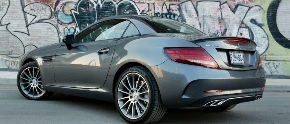 2017 Mercedes Amg Slc 43 Review More Modern Less Muscle