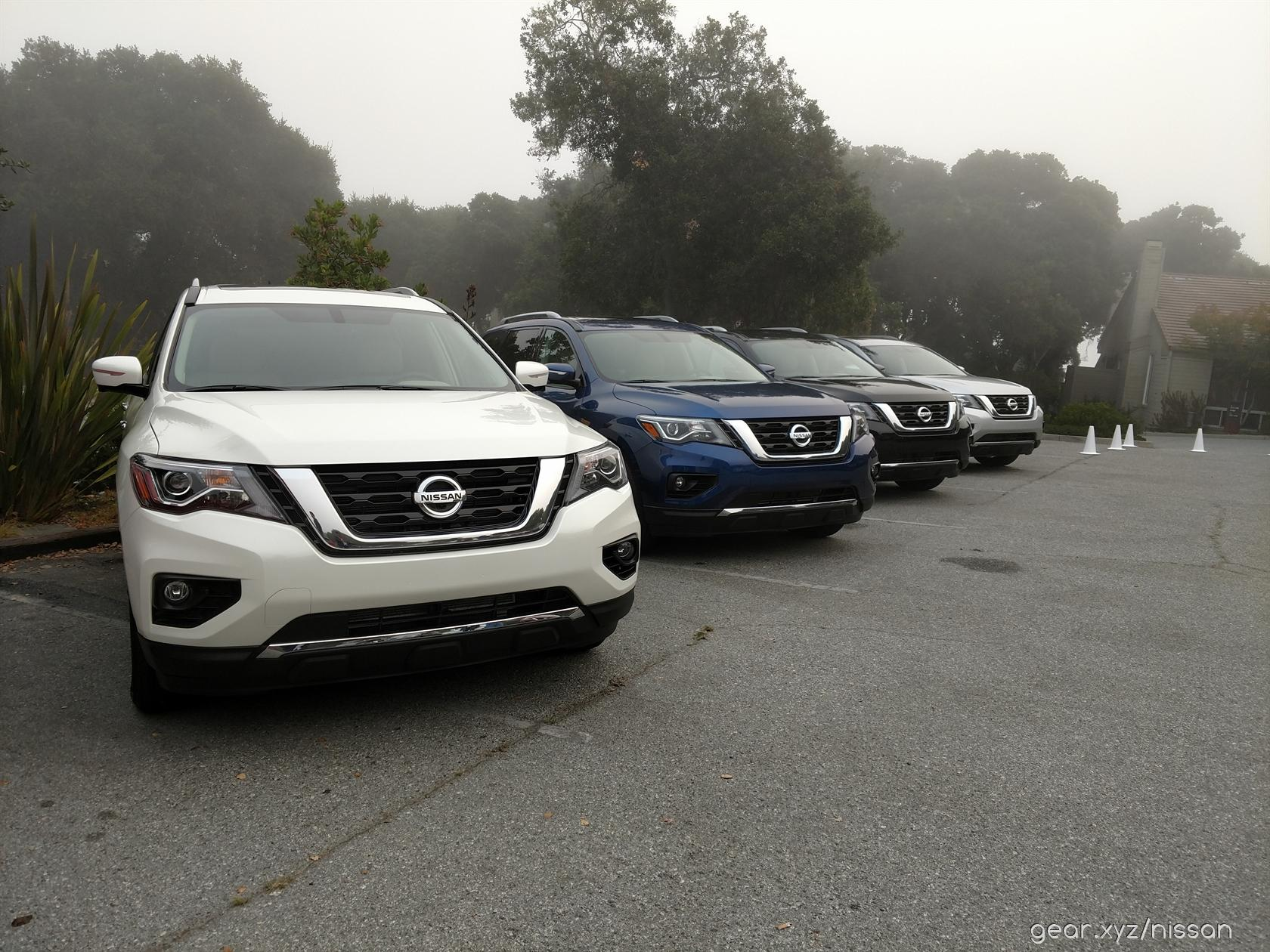 2017 Nissan Pathfinder first-drive - SlashGear