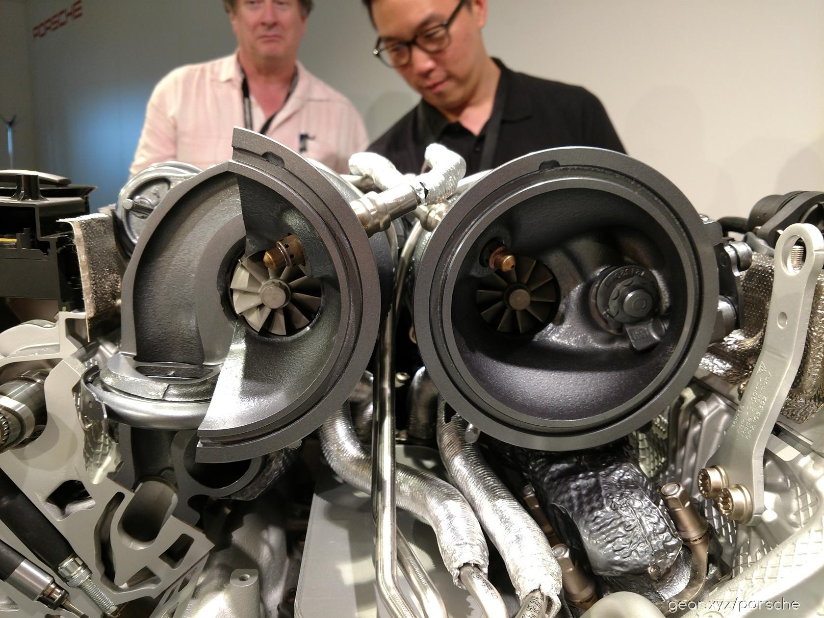 2017 Porsche Panamera Engine
