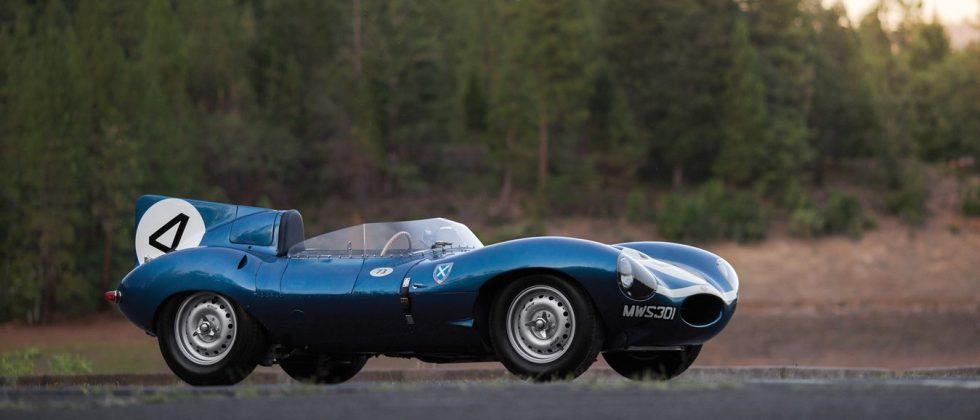 Le Mans-winning 1955 Jaguar, very first Shelby Cobra set auction records